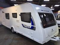 2014 ELDDIS COMPASS CORONA 4 BERTH 574 SINGLE BEDS 1 OWNER MOTOR MOVER + EXTRAS, ALKO TRAILER SYSTEM