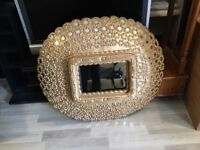 Wall hanging mirror ( new )