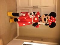 ADULT Minnie Mouse deluxe Professional Mascot Costume fancy dress