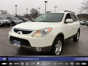 2012 Hyundai Veracruz GL AWD | LEATHER | HEATED SEATS |