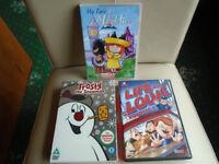 3 CHILDREN'S FILM DVDs, RARELY VIEWED