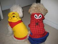 Clearance sale- Small Dog Costumes & Sweaters