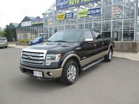 2013 Ford F-150 Lariat- 4X4 WITH LEATHER