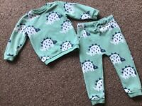 M&S Unisex dinosaur jumper and trousers