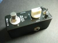 Mooer Black Secret Distortion Pedal (with power supply)