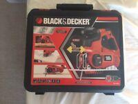 Black and decker zenit KSTR8K jigsaw