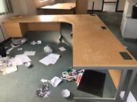 Extra large L shape desk 2.8meters