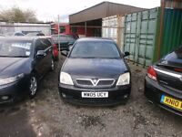 low mileage automatic vauxhall vectra