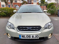 subaru outback 2.5 petrol,subaru history,stunning condition,maintained to the highest spec,