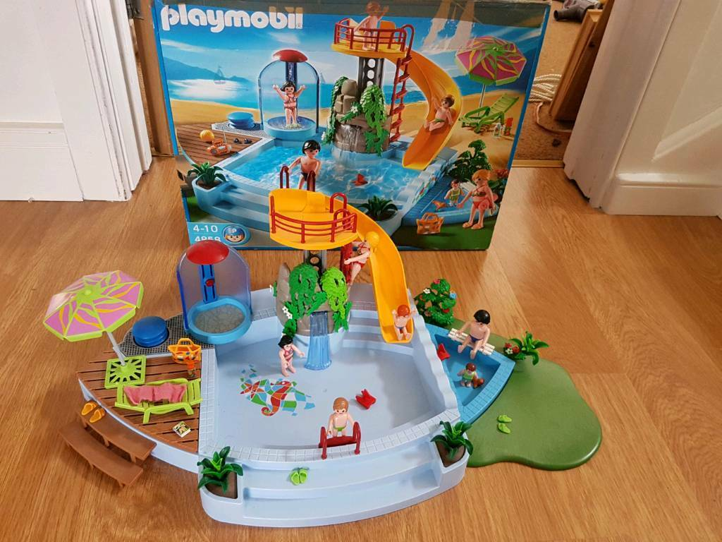 Playmobile 4848 swimming pool slide