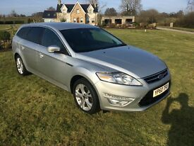 2010 FORD MONDEO TITANIUM 2.0TDCI ESTATE SILVER MANUAL **LOVELY CAR** WELL MAINTAINED **