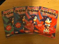 ADVENTURES SONIC THE HEDGEHOG THE COMPLETE SERIES! on DVD and NO Box