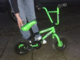 Mini rocker bmx mini irok green