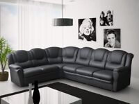 LUXURY TEXAS SOFAS: FIRE SAFETY TESTED AND CERTIFIED: CORNER SOFAS, 3+2 SETS, ARM CHAIRS AND STOOLS