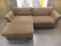 Fabric L shape sofa •free delivery •