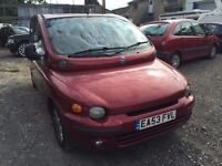 2003 Fiat Multipla diesel, starts and drives well, MOT until May 2017, car located in Gravesend Kent