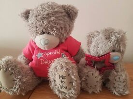 Me-to-You daughter bears- excellent condition- £10 ono for both