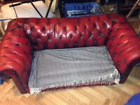 CHESTERFIELD SOFA without cushions