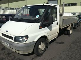 Ford Transit Tipper 350 2004, Alloy drop side, 2.4 Diesel, long mot 2 ,owner from new, NO VAT