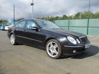 2004 MERCEDES E320 PETROL WITH LPG/GAS CONVERSION - LEATHER - AMG ALLOYS - S/ HISTORY - PX WELCOME