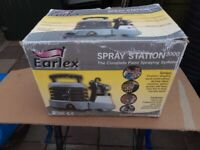 Earlex paint sprayer, spray station, HV 3000 HVLP Gun
