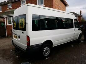 Transit 15 seater minibus 2005