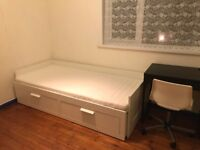 SINGLE FULLY FURNISHED ROOM TO RENT IN FRIENDLY CENTRAL HOUSESHARE