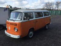 VW Camper Van. T2 model. Full working order. 6 months MOT. Great buy