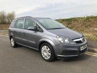 Vauxhall Zafira 1.6 i 16v Life 5dr - 12 MONTHS MOT + 7 SEATER