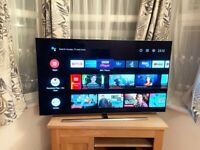 """CAN DELIVER, DOLBY VISION PHILIPS AMBILIGHT 55"""" OLED 4K ULTRA HD SMART ANDROID TV,ONLY 7 MONTH OLD"""