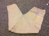 Karen Millen gold trousers 8