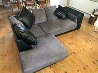 Right hand corner sofa collection only