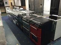 New Ex-Display Electric and Gas Dual Fuel Cooker prices From £119