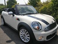 2012 MINI CONVERTIBLE *ONLY 28K* FSH *AS NEW* LIKE FIAT 500 116I GOLF ASTRA CLIO POLO MEGANE CC
