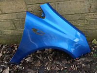 Vauxhall Corsa D VXR 2007 Blue Drivers O/S Side Wing