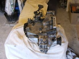 VW Polo gearbox