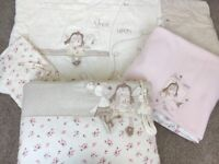 Like new 'Mamas and papas - once upon a time' cot/bed bundle