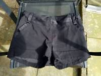 Women's New Look Black Size 12 Dress Shorts NEW WITHOUT TAGS