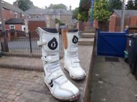 Motocross boots size 4