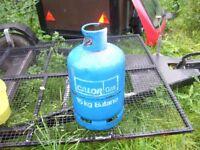 empty 15 kg calor butane bottle