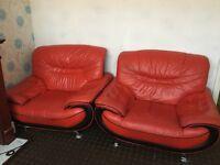 FREE 3 piece leather sofa set
