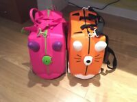 Trunk kids suitcases