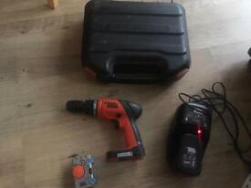 Black & Decker 14.4v cordless drill kit free local delivery!