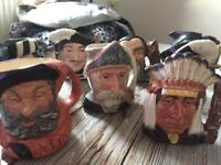 Royal DOULTON Toby jugs for sale