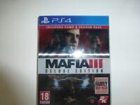 Mafia 3 for the PS4 - Deluxe Edition