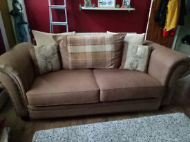 3-Seater 'Abbey' SCS Sofa - EXCELLENT CONDITION!
