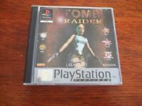 PLAYSTATION 1 TOMB RAIDER EXCELLENT CONDITION