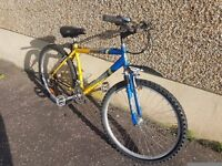 Front suspension Mountain bike