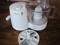 Cookworks Food Processor, on- pulse, veg attachment