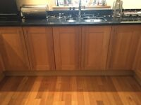 Black granite work tops